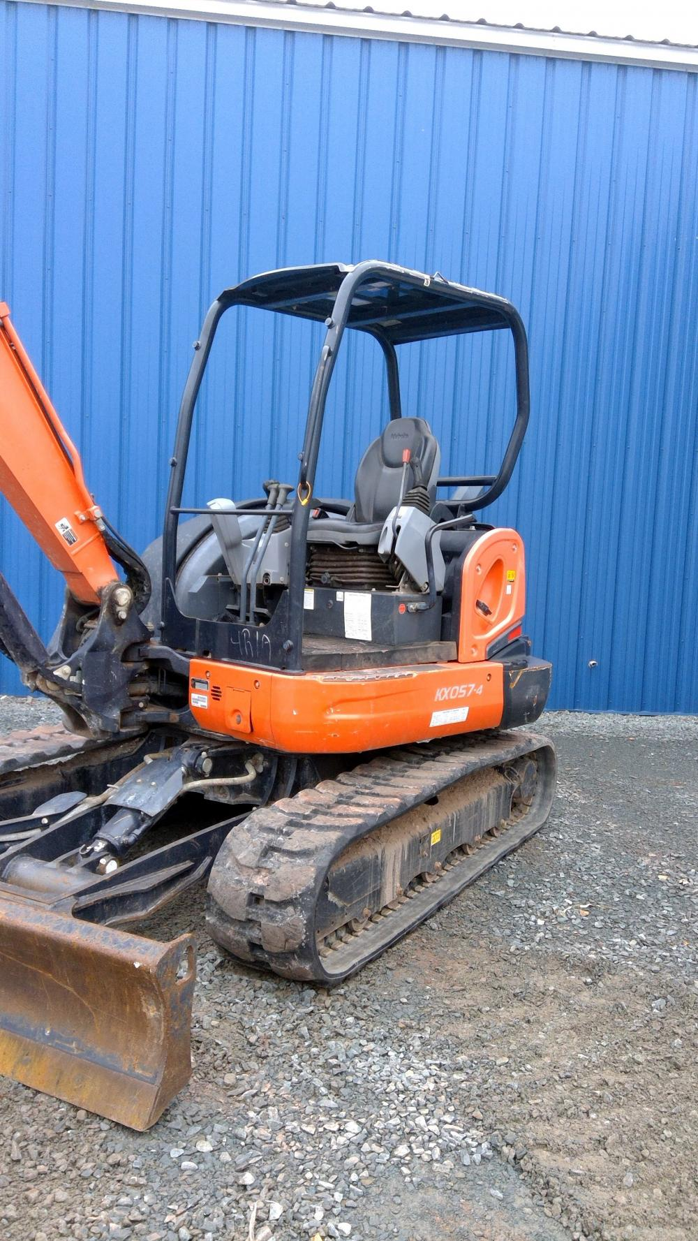 Detail photo of 2015 Kubota KX057 from Construction Equipment Guide