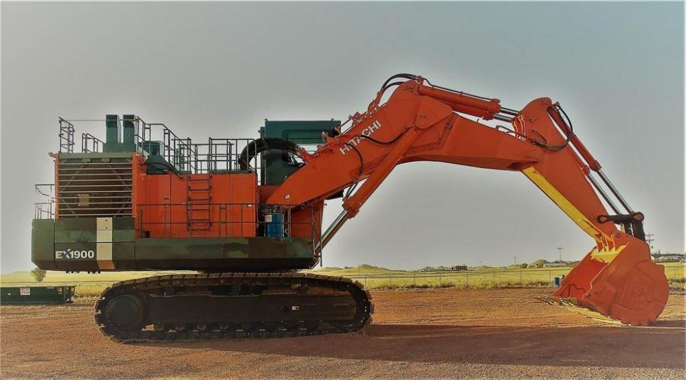 Detail photo of 2008 Hitachi EX1900-6 from Construction Equipment Guide