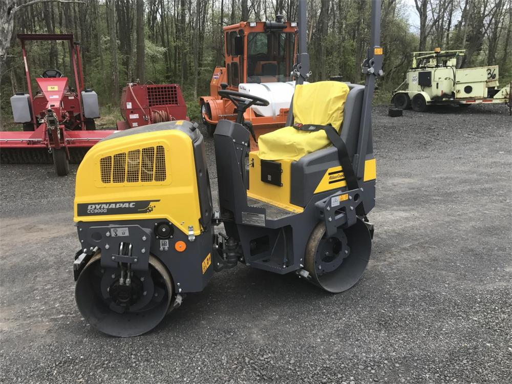 Detail photo of 2017 Dynapac CC900G from Construction Equipment Guide