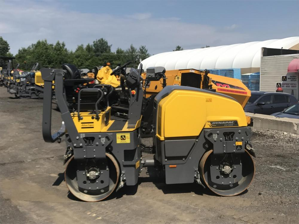 Detail photo of 2017 Dynapac CC1200 from Construction Equipment Guide