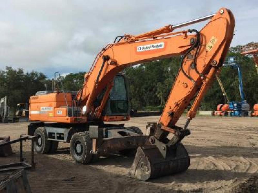 Detail photo of 2012 Doosan DX210W from Construction Equipment Guide