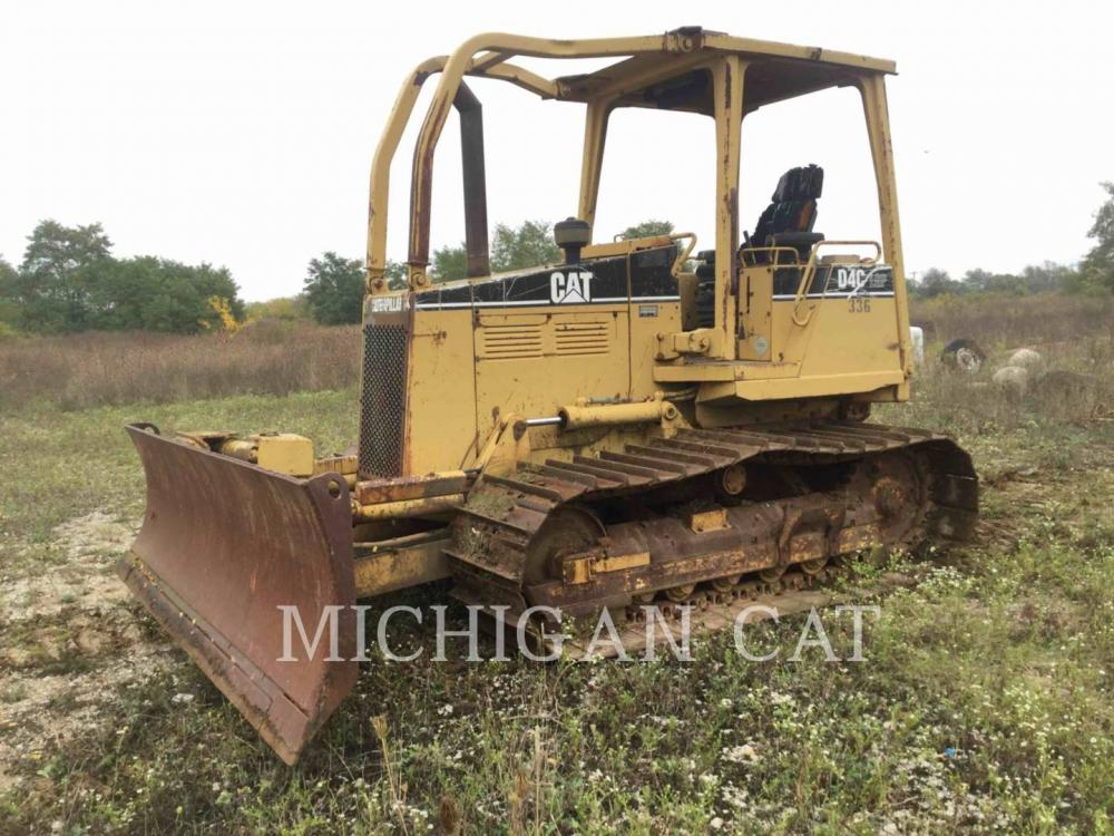 Detail photo of 1995 Caterpillar D4C LGP III from Construction Equipment Guide