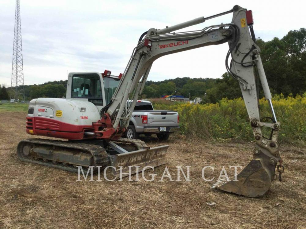 Detail photo of 2015 Takeuchi TB290 from Construction Equipment Guide