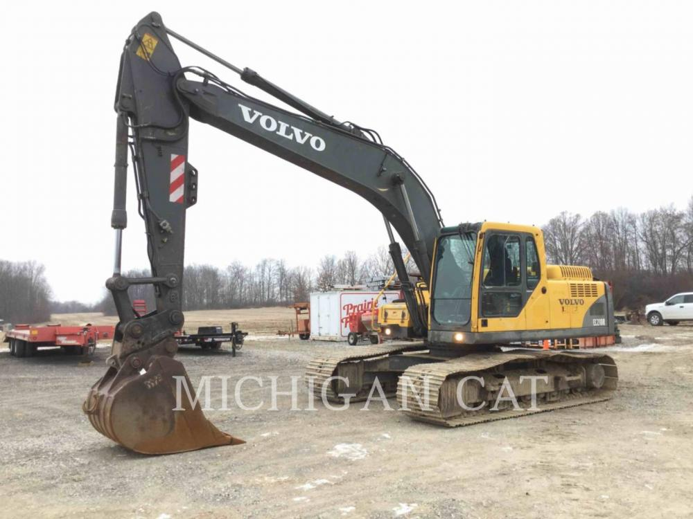 Detail photo of 2004 Volvo EC210BLC from Construction Equipment Guide