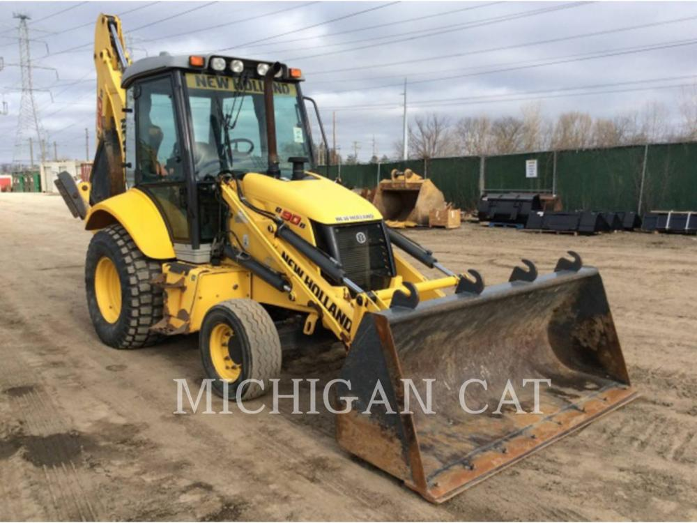 Detail photo of 2008 New Holland B90B from Construction Equipment Guide