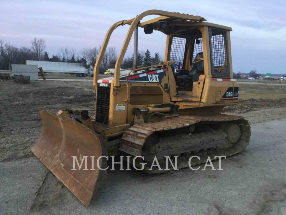 Detail photo of 2003 Caterpillar D4G LGP from Construction Equipment Guide