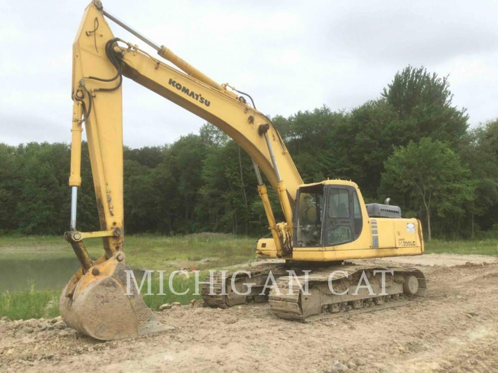Detail photo of 2000 Komatsu PC300LC from Construction Equipment Guide