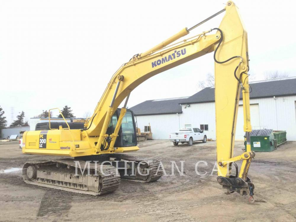 Detail photo of 2005 Komatsu PC300LC-7L from Construction Equipment Guide
