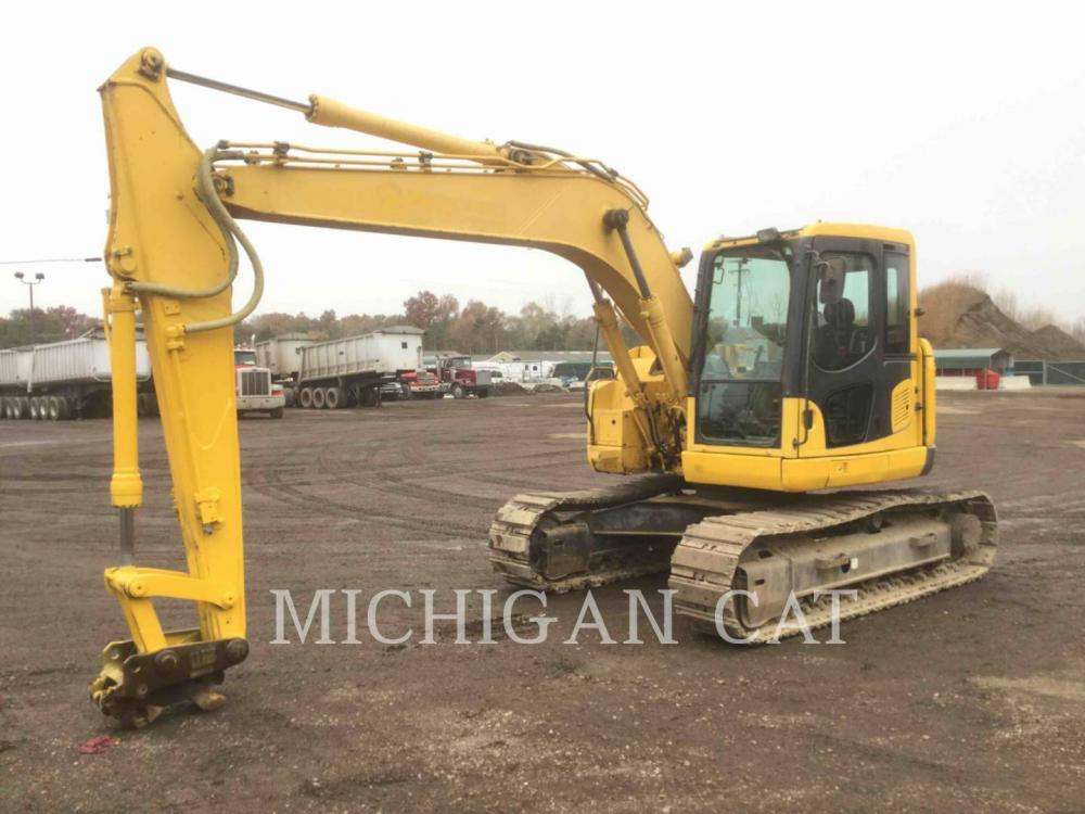 Detail photo of 2008 Komatsu PC128US from Construction Equipment Guide