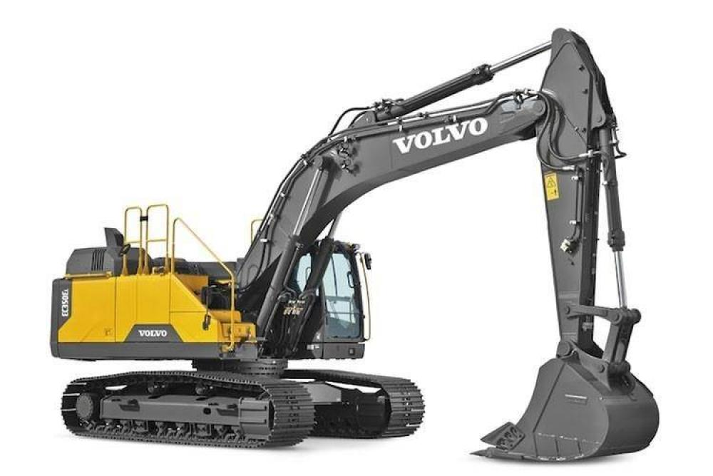 Detail photo of 2017 Volvo EC350EL from Construction Equipment Guide