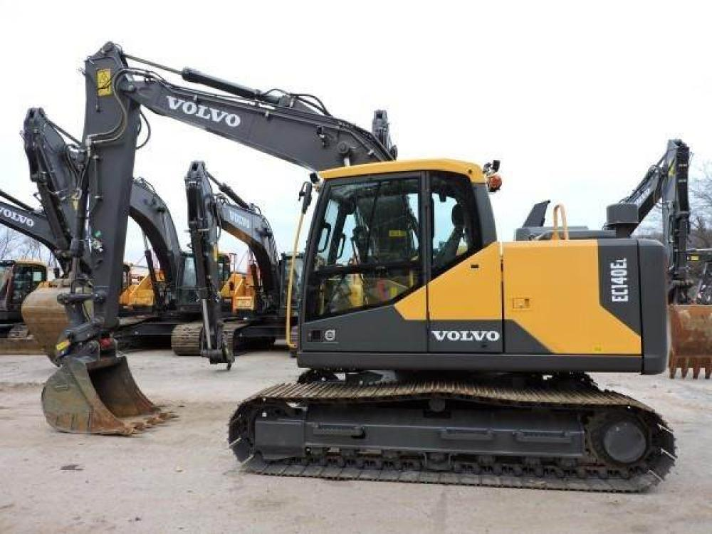 Detail photo of 2015 Volvo EC140 from Construction Equipment Guide