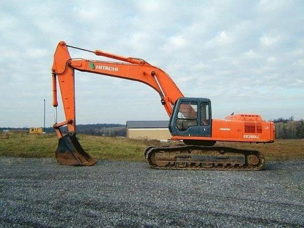 Detail photo of  Hitachi EX300LC from Construction Equipment Guide