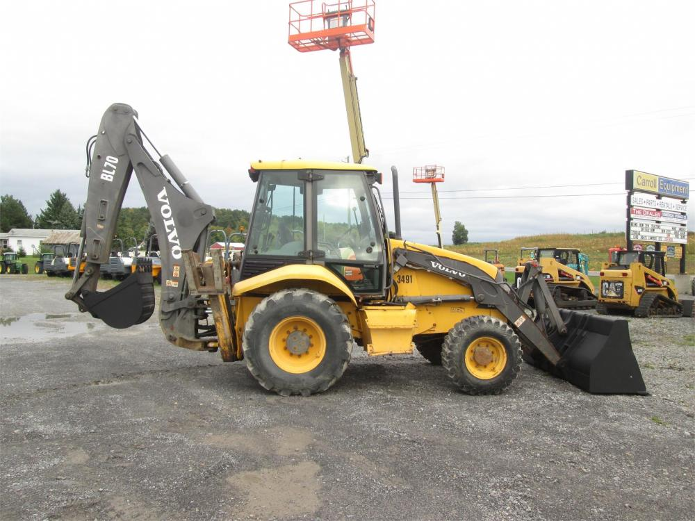 Detail photo of 2003 Volvo BL70 from Construction Equipment Guide
