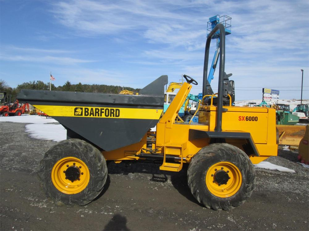 Detail photo of  Barford SX6000 from Construction Equipment Guide