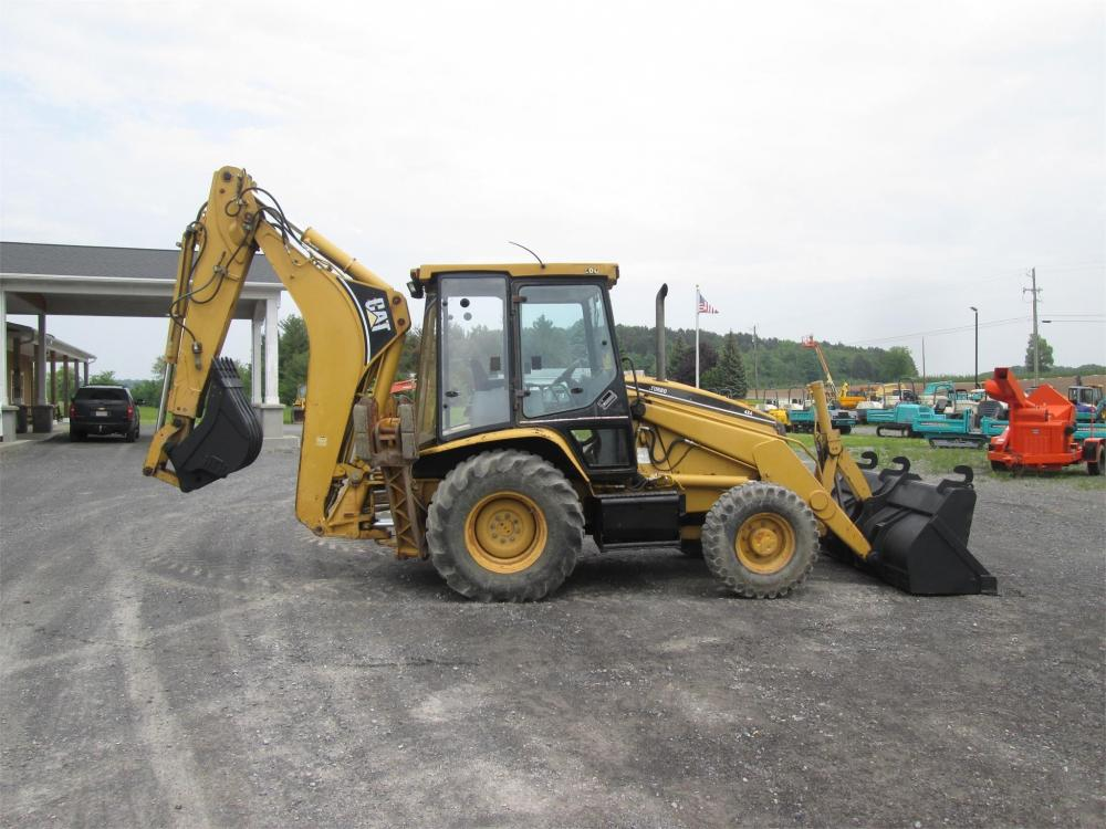 Detail photo of  Caterpillar 426C IT from Construction Equipment Guide