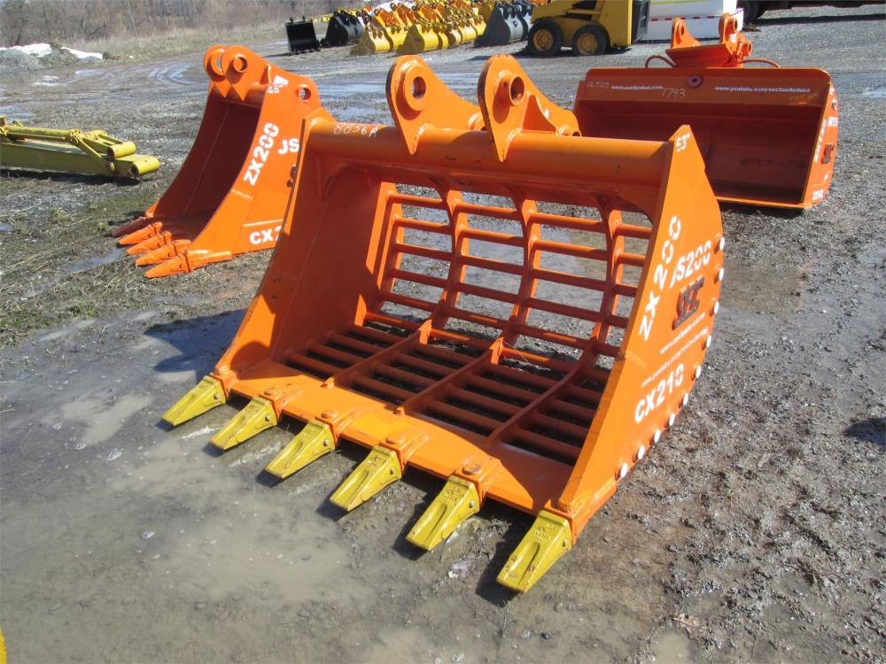Detail photo of  SEC 63IN. SKELETON TOOTH BUCKET from Construction Equipment Guide