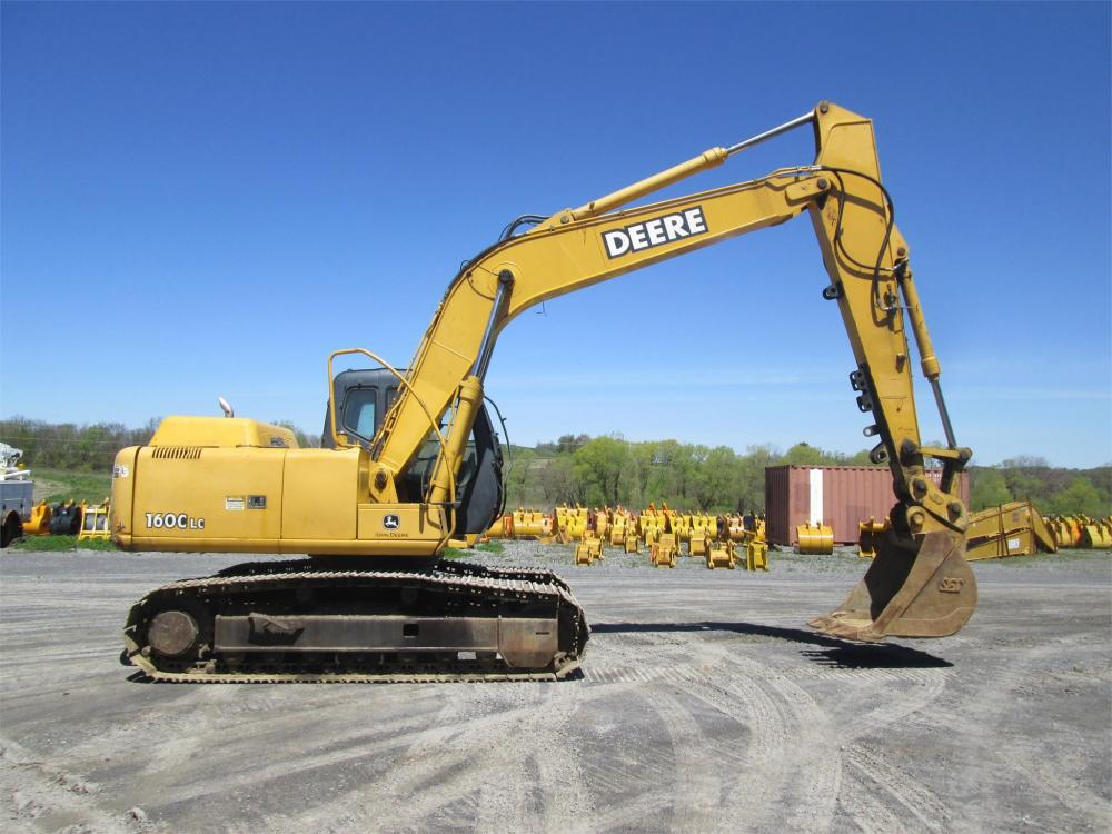Detail photo of  John Deere 160 LC from Construction Equipment Guide