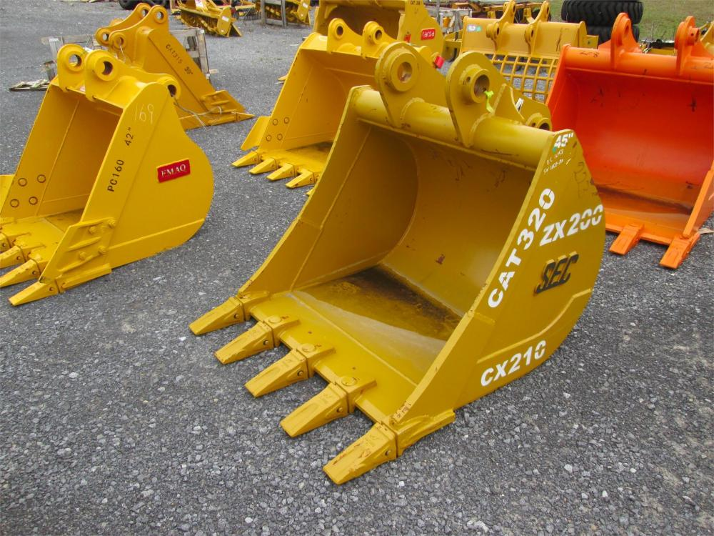 Detail photo of  SEC 45IN. TOOTH BUCKET from Construction Equipment Guide