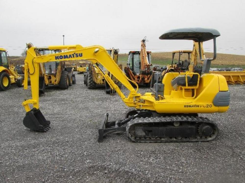 Detail photo of  Komatsu PC20-7 from Construction Equipment Guide