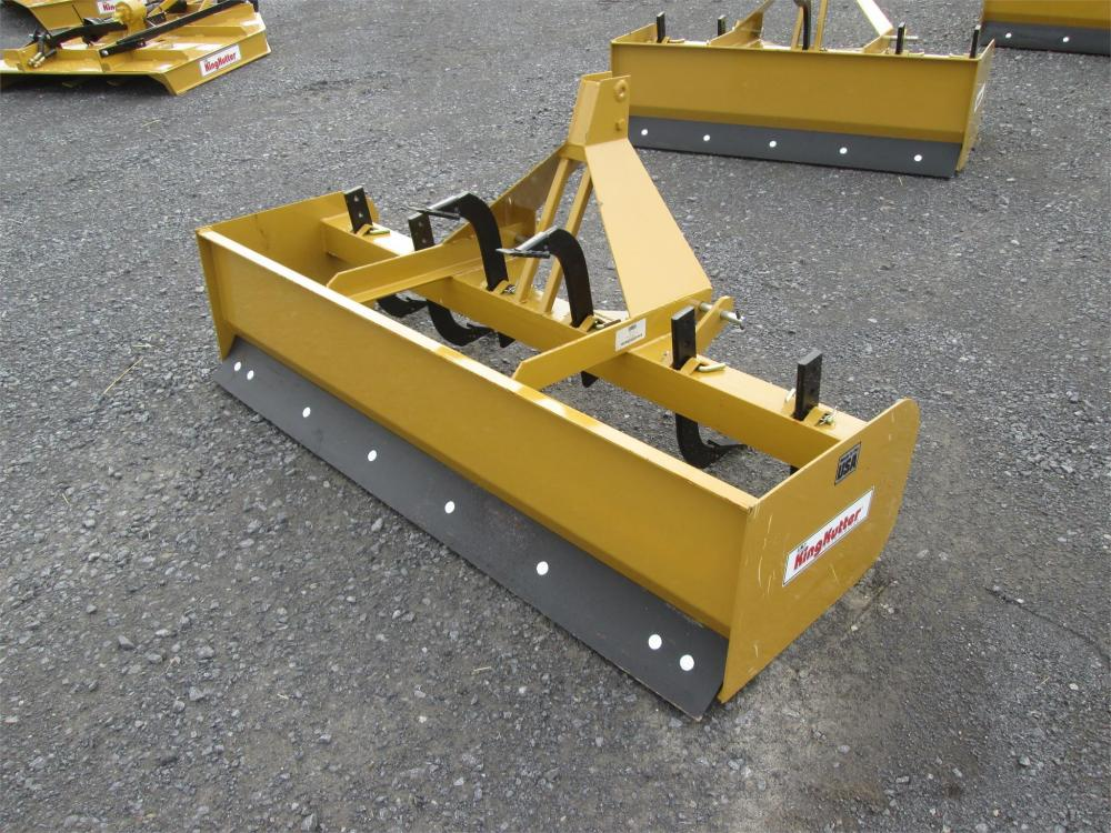 Detail photo of  King Kutter 6FT. BOX BLADE from Construction Equipment Guide