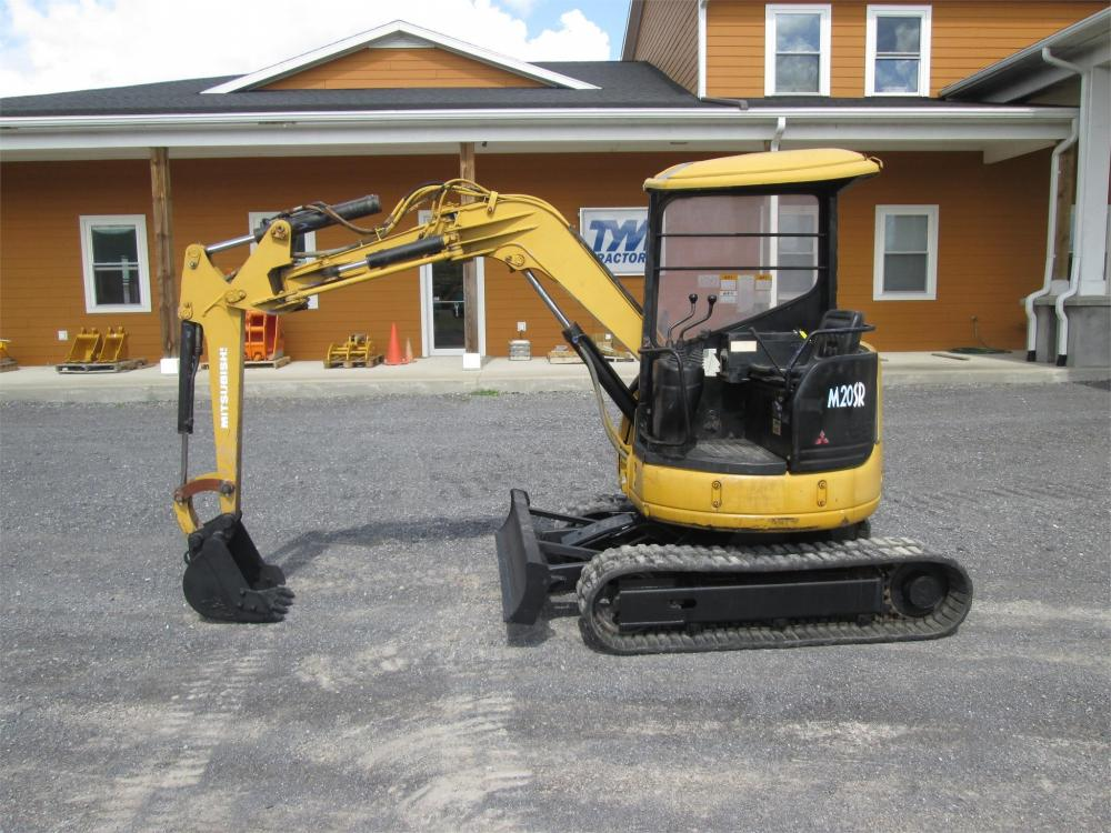 Detail photo of  Mitsubishi MM20SR from Construction Equipment Guide