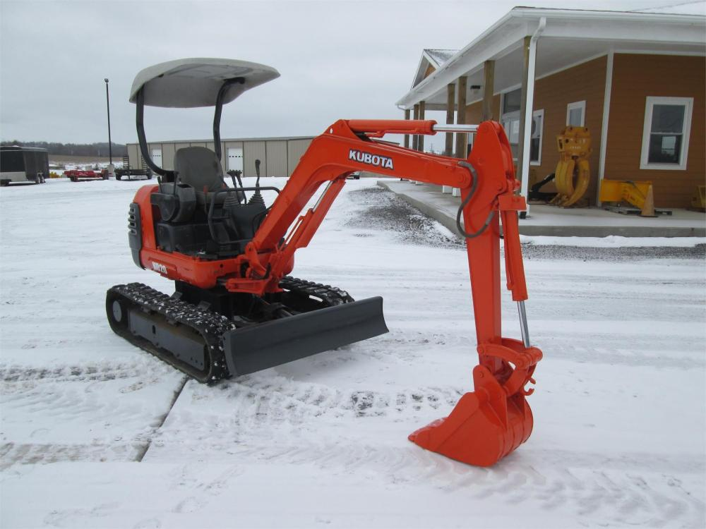 Detail photo of  Kubota K020 from Construction Equipment Guide