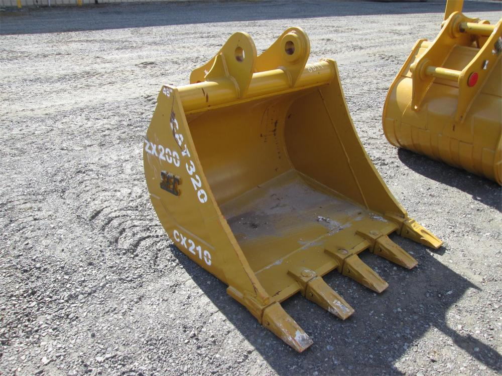Detail photo of  Caterpillar 48 IN. TOOTH BUCKET from Construction Equipment Guide