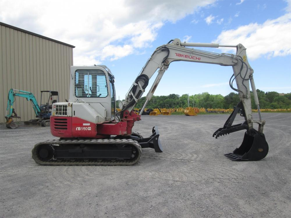 Detail photo of  Takeuchi TB180FR from Construction Equipment Guide