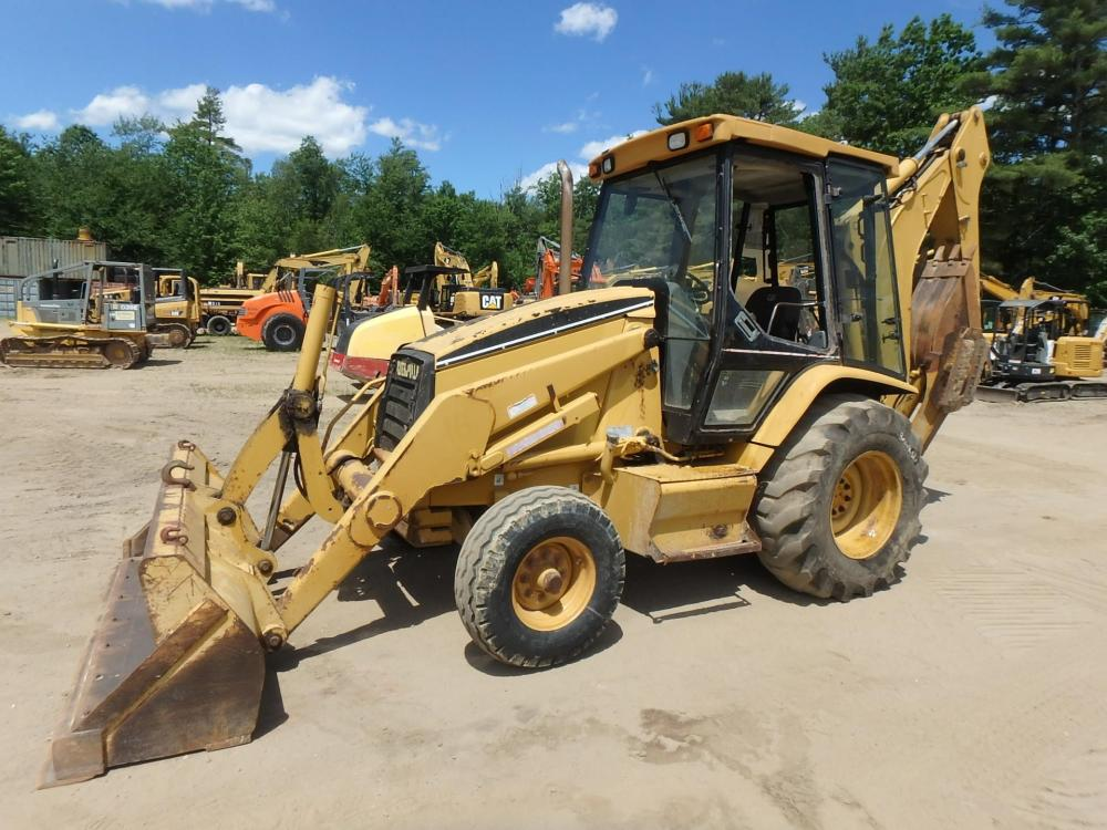 Detail photo of 1998 Caterpillar 416C from Construction Equipment Guide