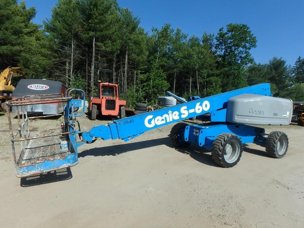 Detail photo of 2007 Genie S-60 from Construction Equipment Guide