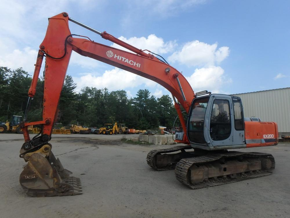 Detail photo of 2000 Hitachi EX200-5 from Construction Equipment Guide