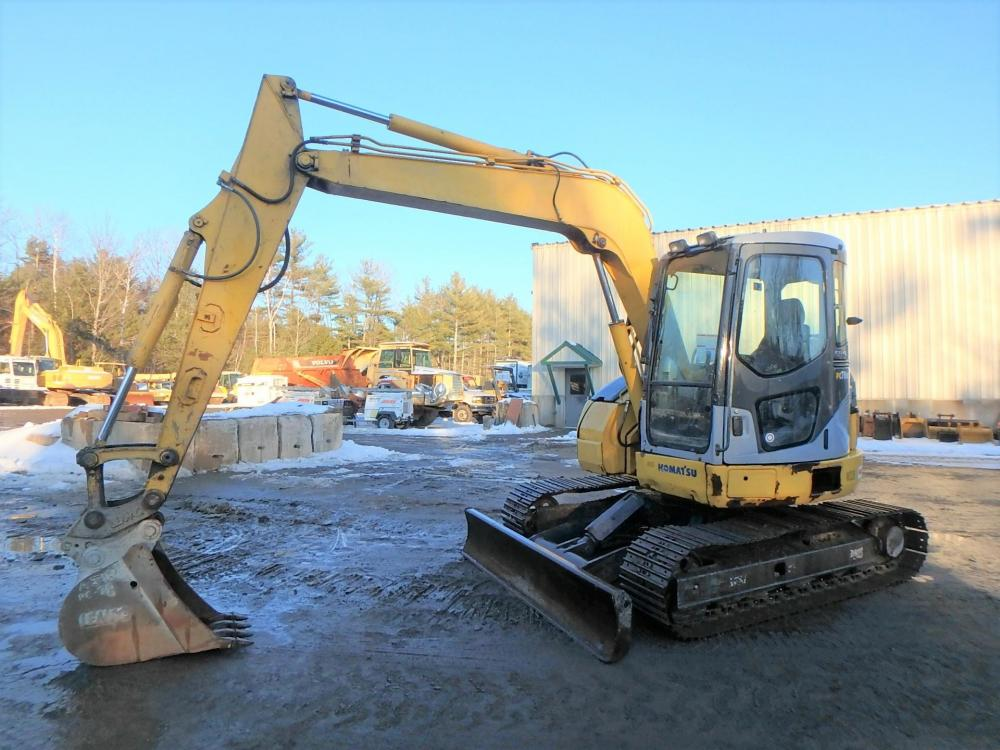 Detail photo of 2007 Komatsu PC78US-6N0 from Construction Equipment Guide
