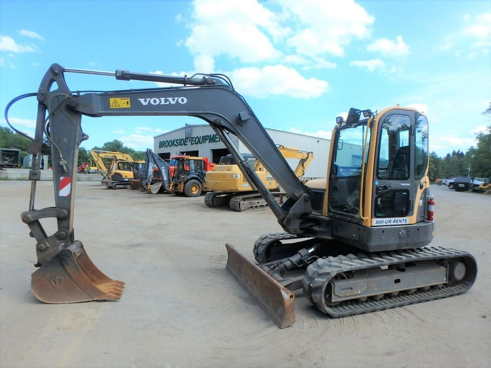 Detail photo of 2013 Volvo ECR88 from Construction Equipment Guide