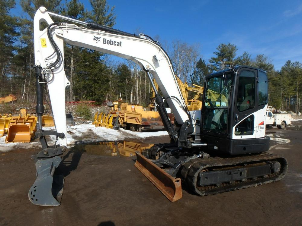 Detail photo of 2014 Bobcat E85EM from Construction Equipment Guide