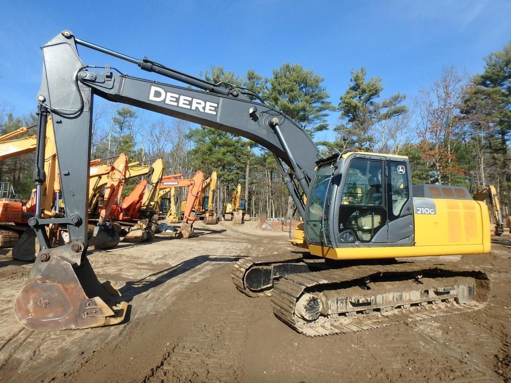Detail photo of 2013 John Deere 210G from Construction Equipment Guide
