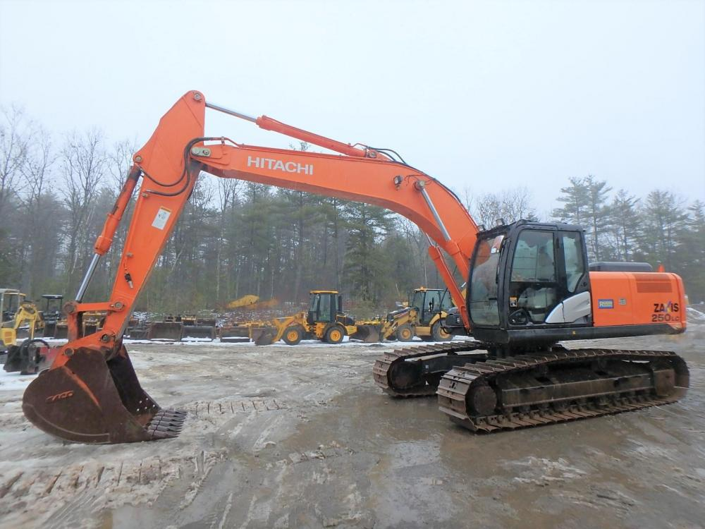 Detail photo of 2014 Hitachi ZX250LC-5 from Construction Equipment Guide