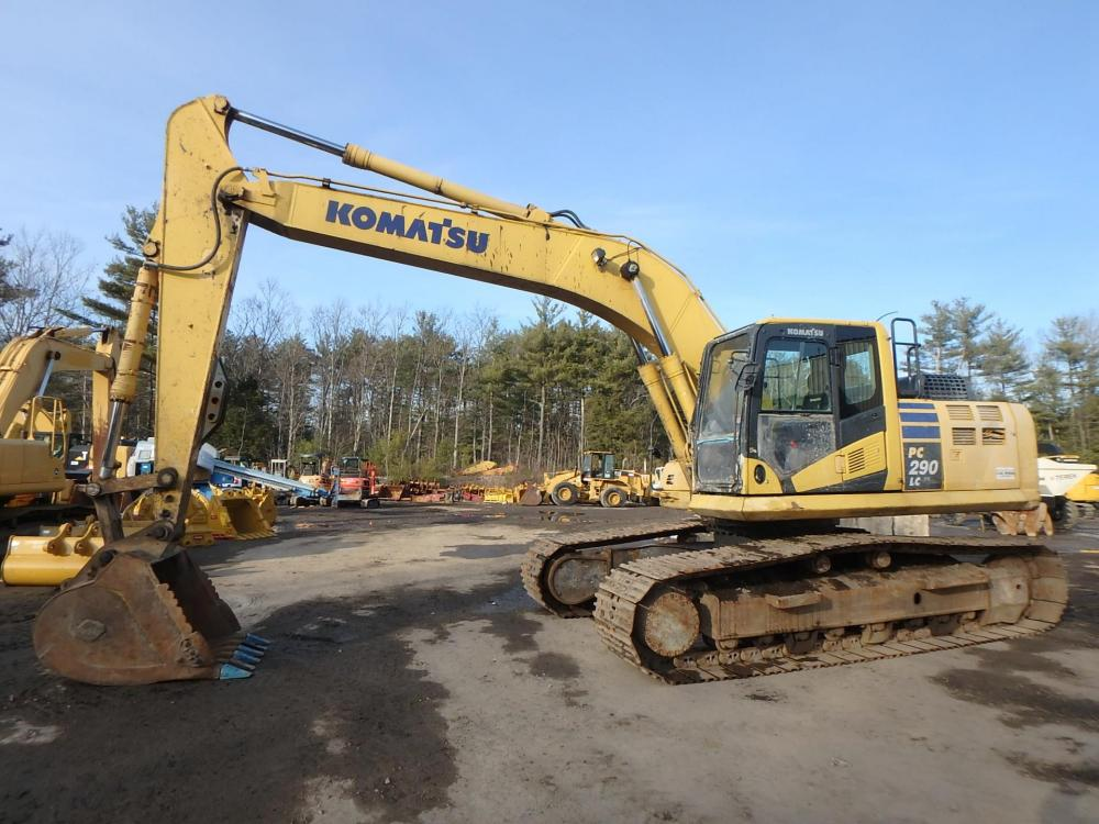 Detail photo of 2013 Komatsu PC290LC-10 from Construction Equipment Guide
