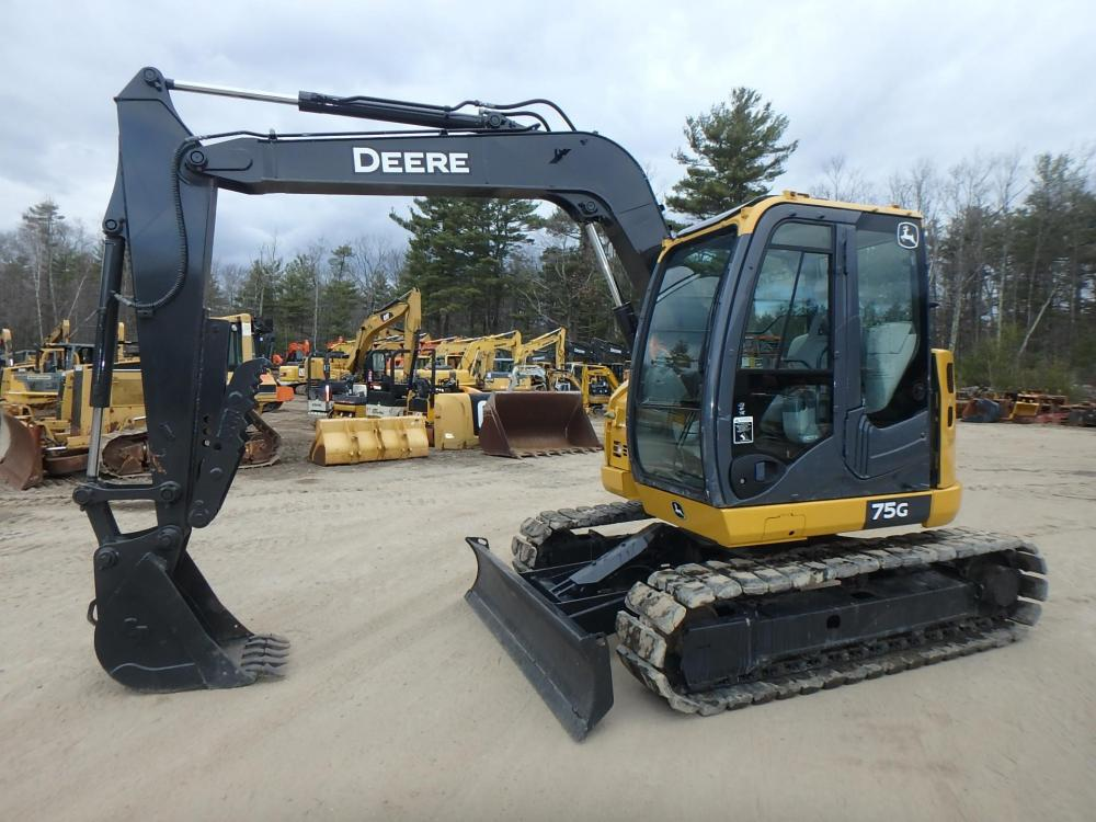 Detail photo of 2015 John Deere 75G from Construction Equipment Guide