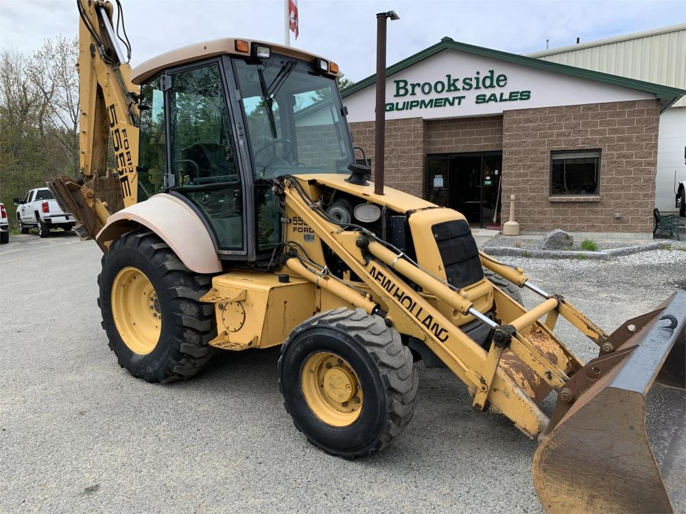 Detail photo of 1998 New Holland 555E from Construction Equipment Guide