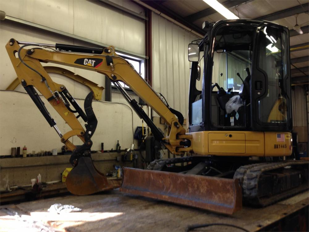 Detail photo of 2014 Caterpillar 303.5E CR from Construction Equipment Guide