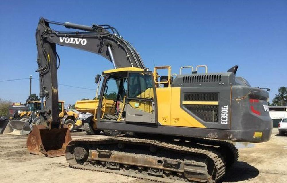 Detail photo of 2016 Volvo EC350EL from Construction Equipment Guide