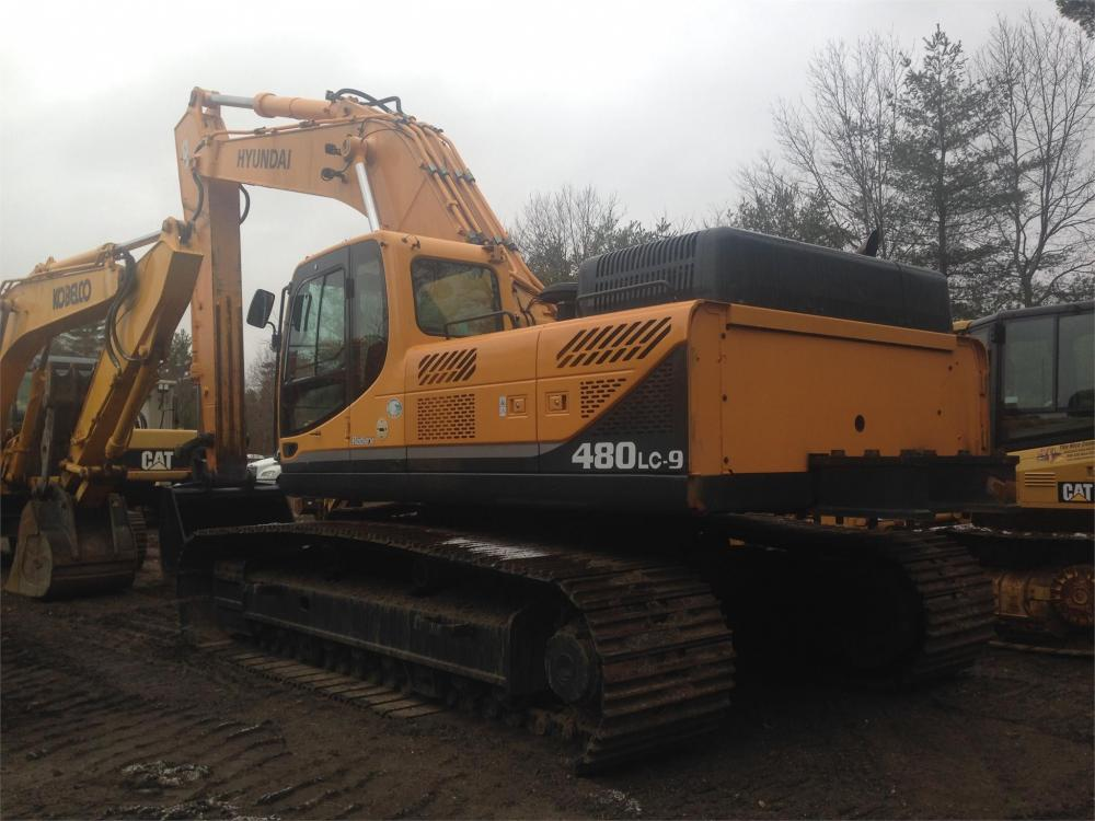 Detail photo of 2010 Hyundai ROBEX 480 LC-9 from Construction Equipment Guide