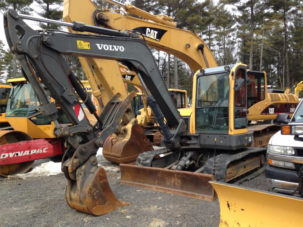 Detail photo of 2007 Volvo ECR88 from Construction Equipment Guide