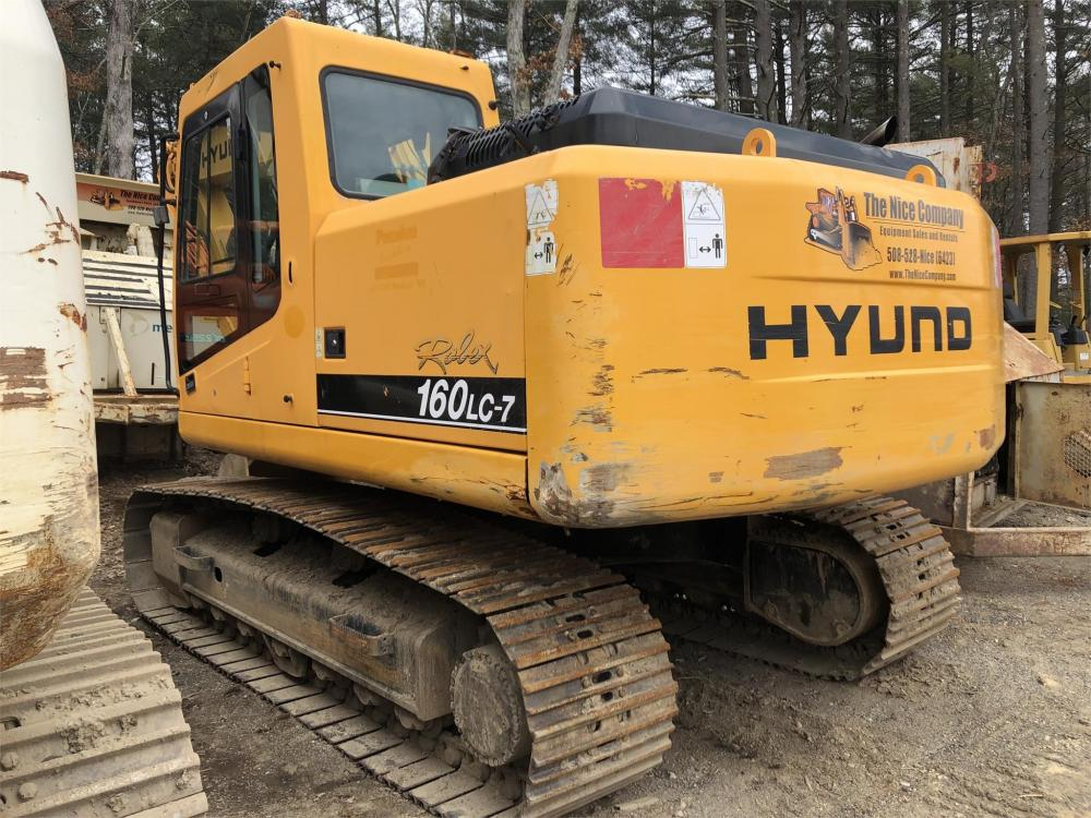 Detail photo of 2005 Hyundai ROBEX 160 LC-7 from Construction Equipment Guide