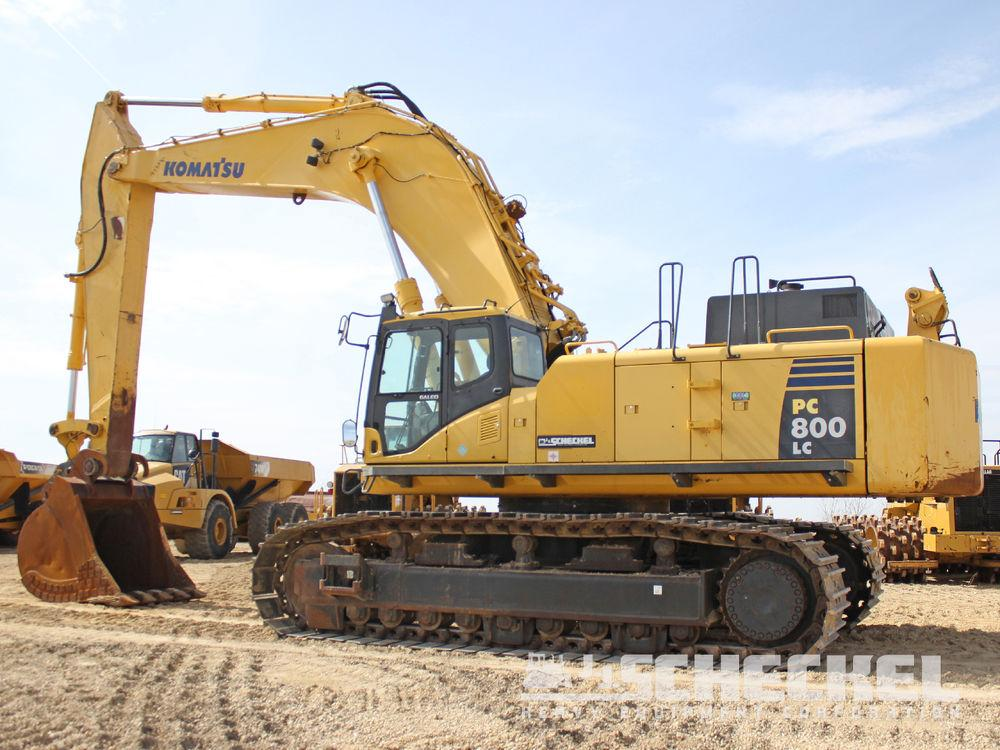Detail photo of 2007 Komatsu PC800LC-8 from Construction Equipment Guide