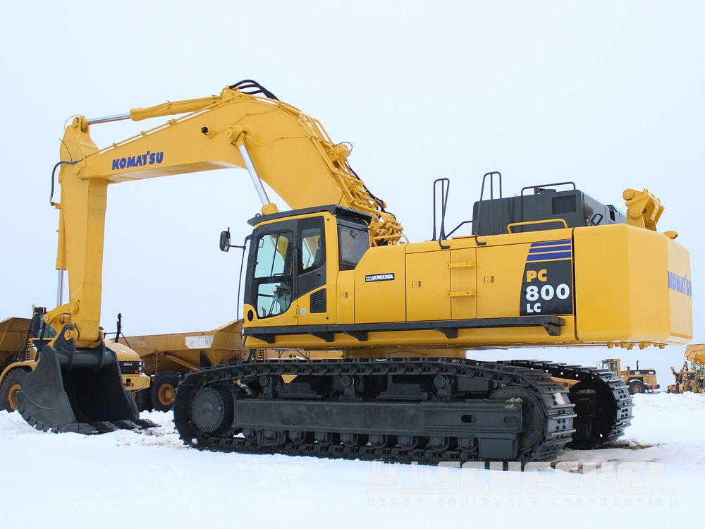 Detail photo of 2012 Komatsu PC800LC-8 from Construction Equipment Guide