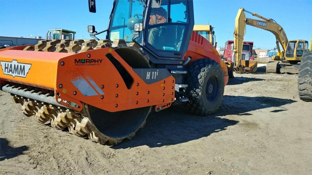 Detail photo of 2015 Hamm H11I from Construction Equipment Guide