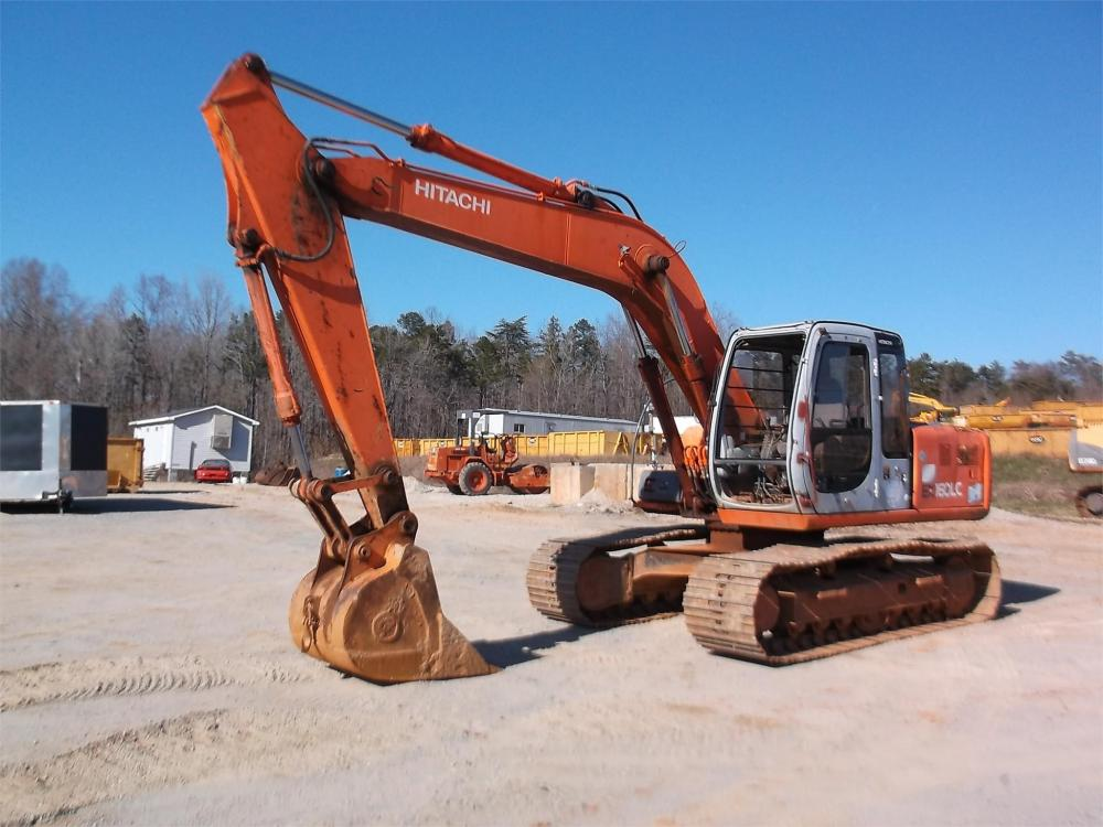 Detail photo of 1999 Hitachi EX160LC-5 from Construction Equipment Guide