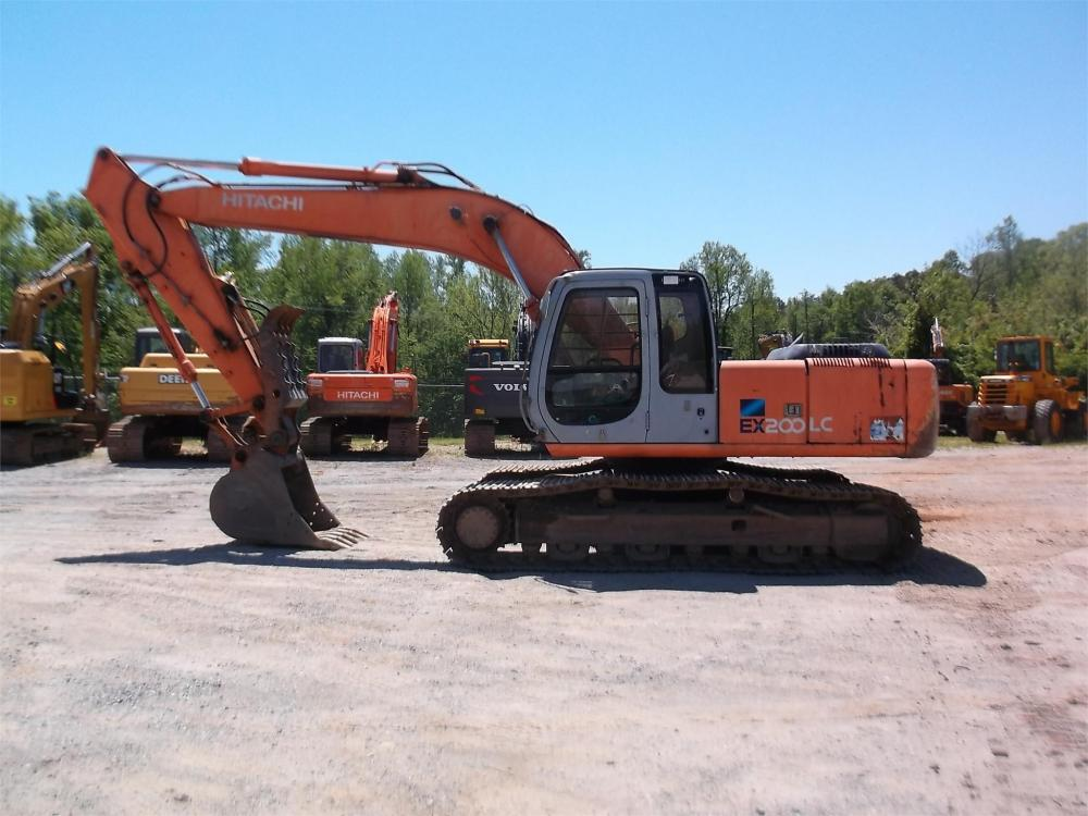 Detail photo of 1999 Hitachi EX200LC-5 from Construction Equipment Guide