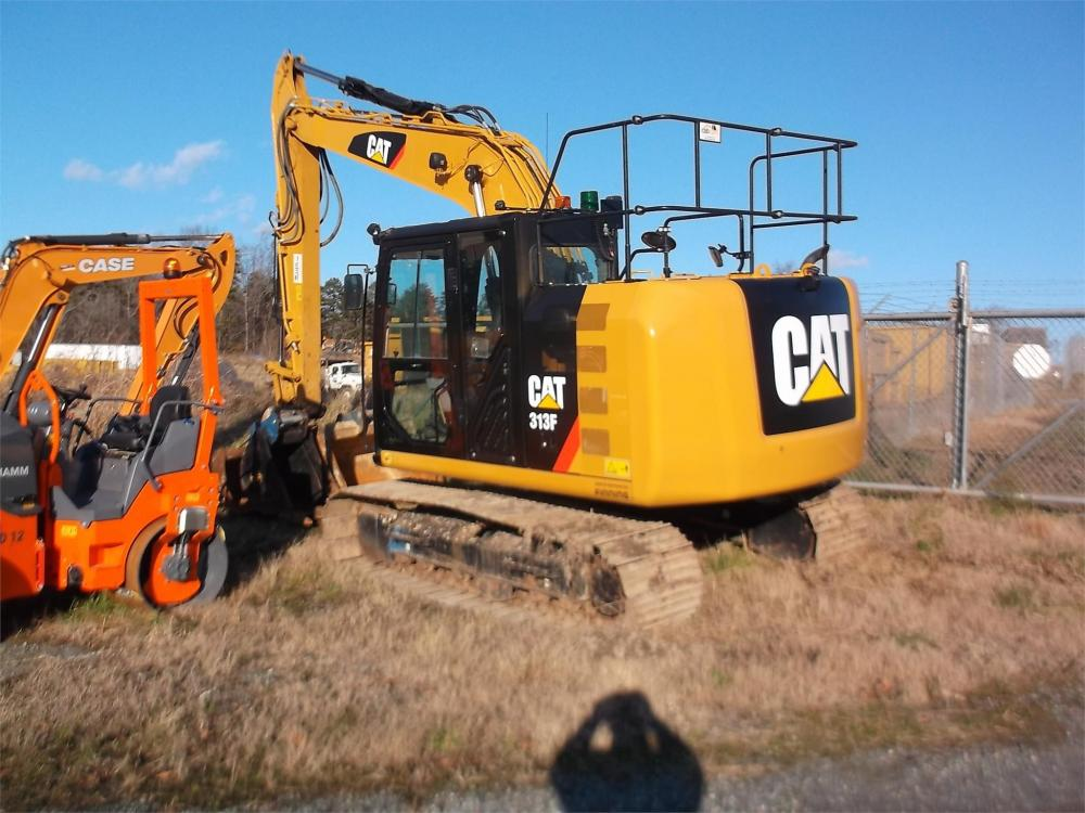 Detail photo of 2017 Caterpillar 313F from Construction Equipment Guide